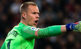 Barça : ter Stegen tape du poing sur la table